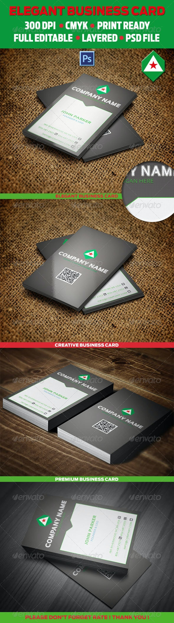 Corporate Business Card 10 - Creative Business Cards