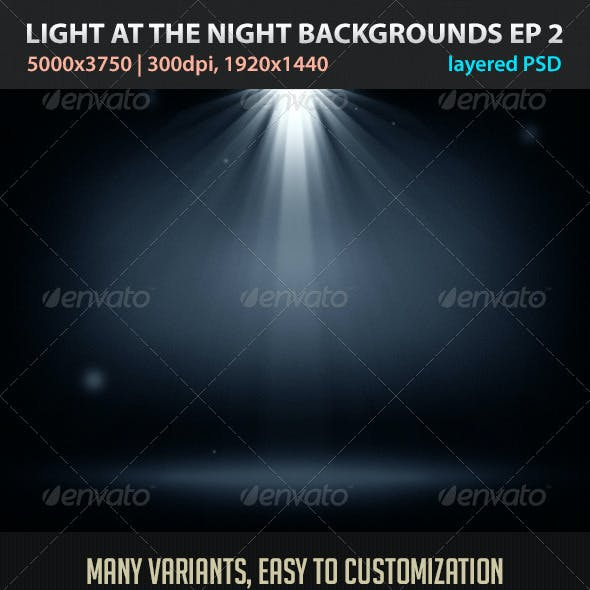 Light at the Night Backgrounds EP2