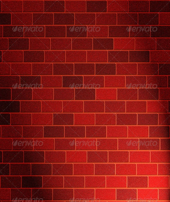Red Brick Wall Texture - Industrial / Grunge Textures
