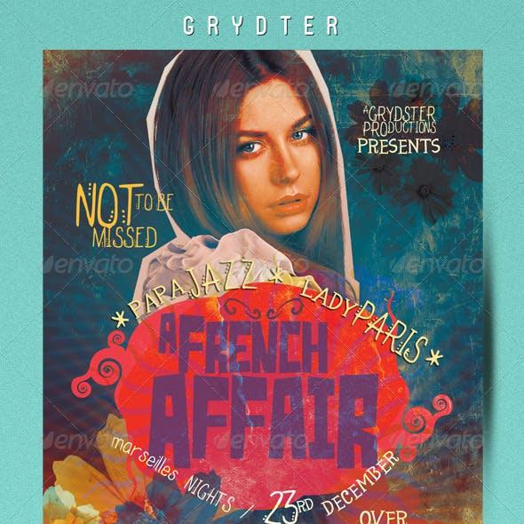 French Affair Flyer