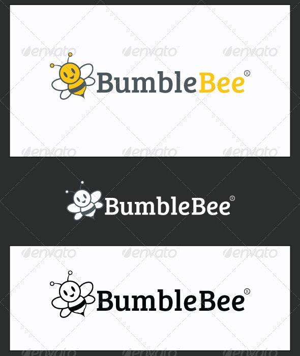BumbleBee Logo Template - Animals Logo Templates