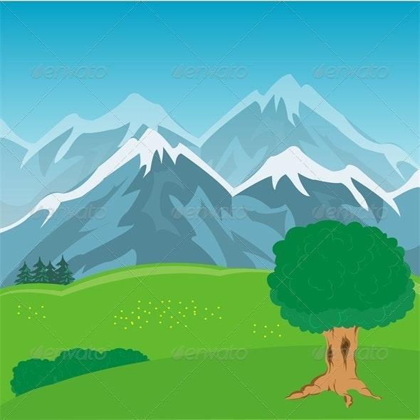 Mountain Year Landscape - Landscapes Nature