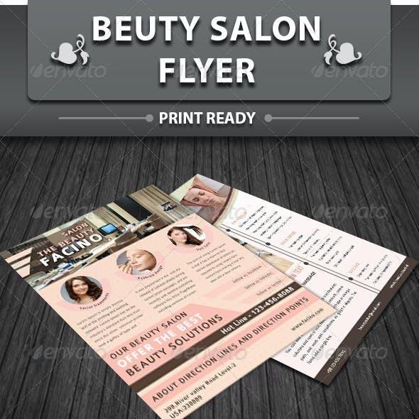 Spa & Beauty Saloon Flyer   Volume 2