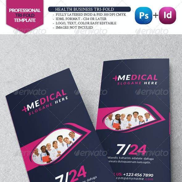 Health Business Tri-Fold