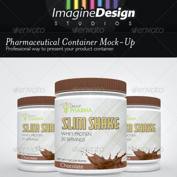 Pharmaceutical Container Mock-Up