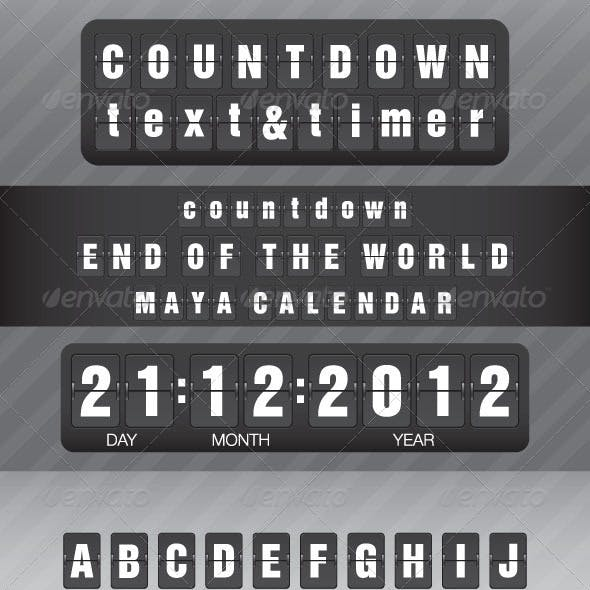 Countdown Text and Timer