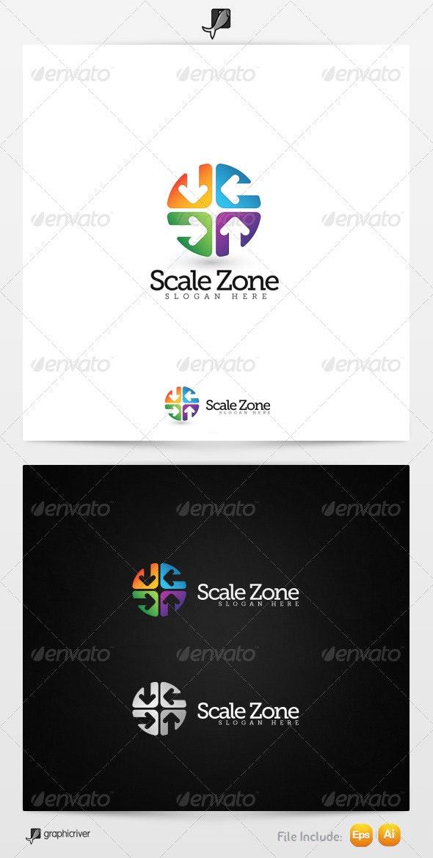 Scale Zone 2 Logo Template - Symbols Logo Templates