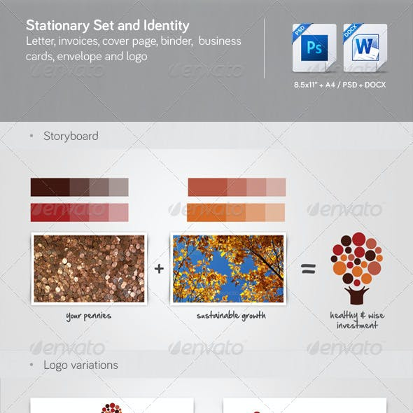 Corporate Stationery, Invoice and Identity