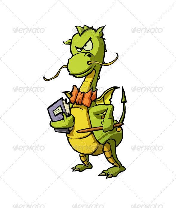 Dragon Teacher  - Animals Characters