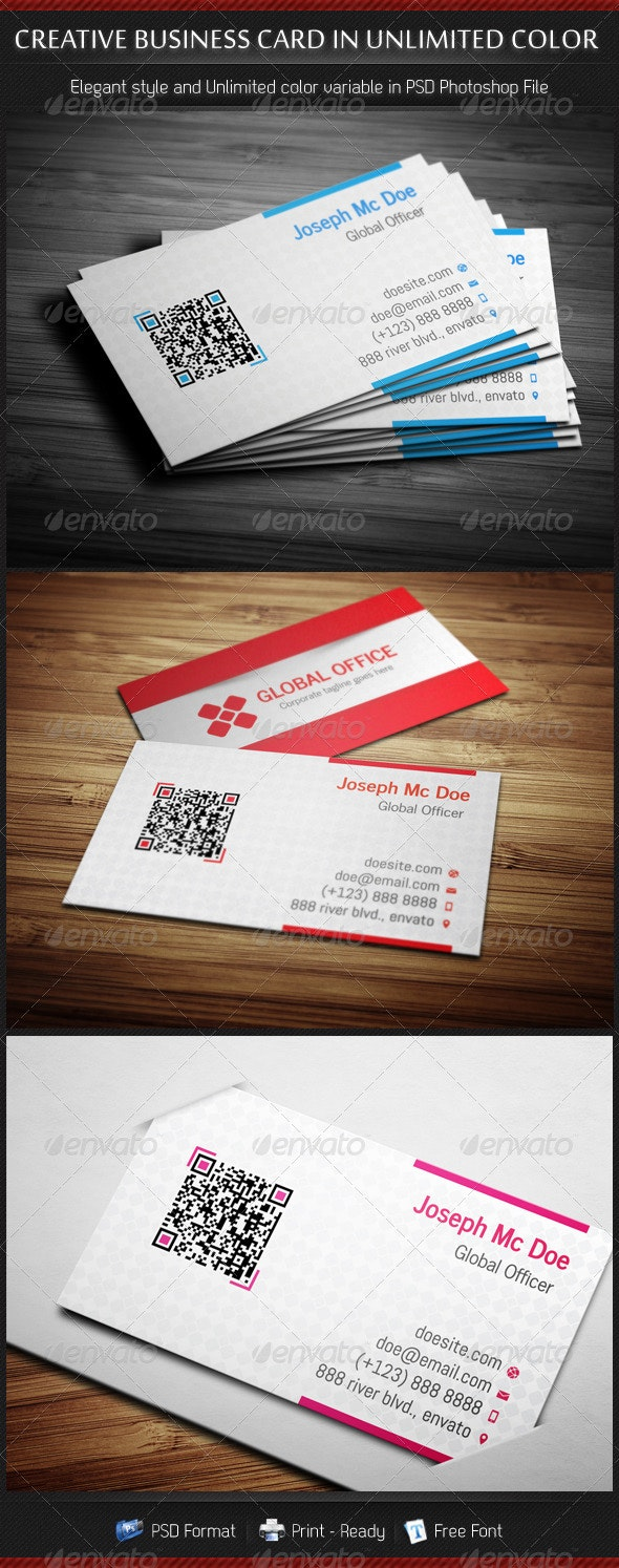 Business Cards in Unlimited Color - Creative Business Cards
