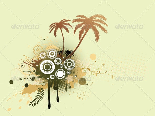 Summer Background  - Backgrounds Decorative