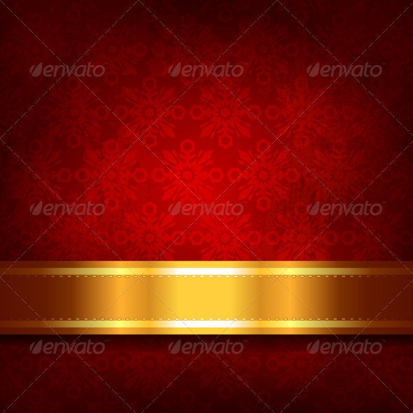 Red Christmas Background - Backgrounds Business