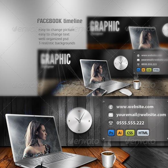 Designer FB Timeline Cover