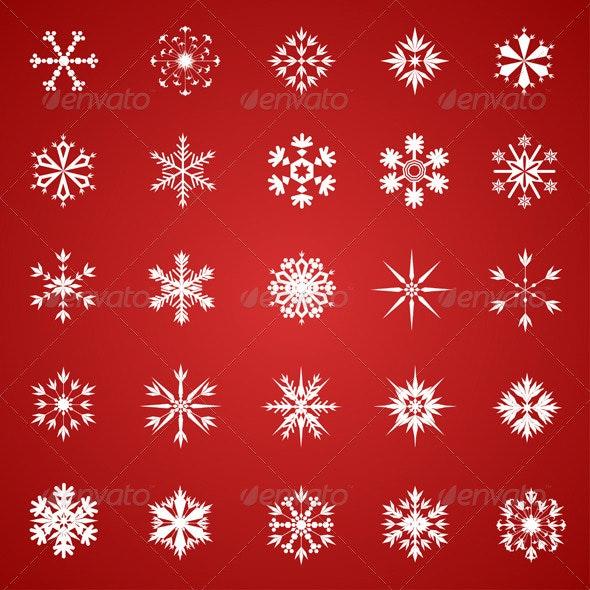 Snowflake Collection - Christmas Seasons/Holidays