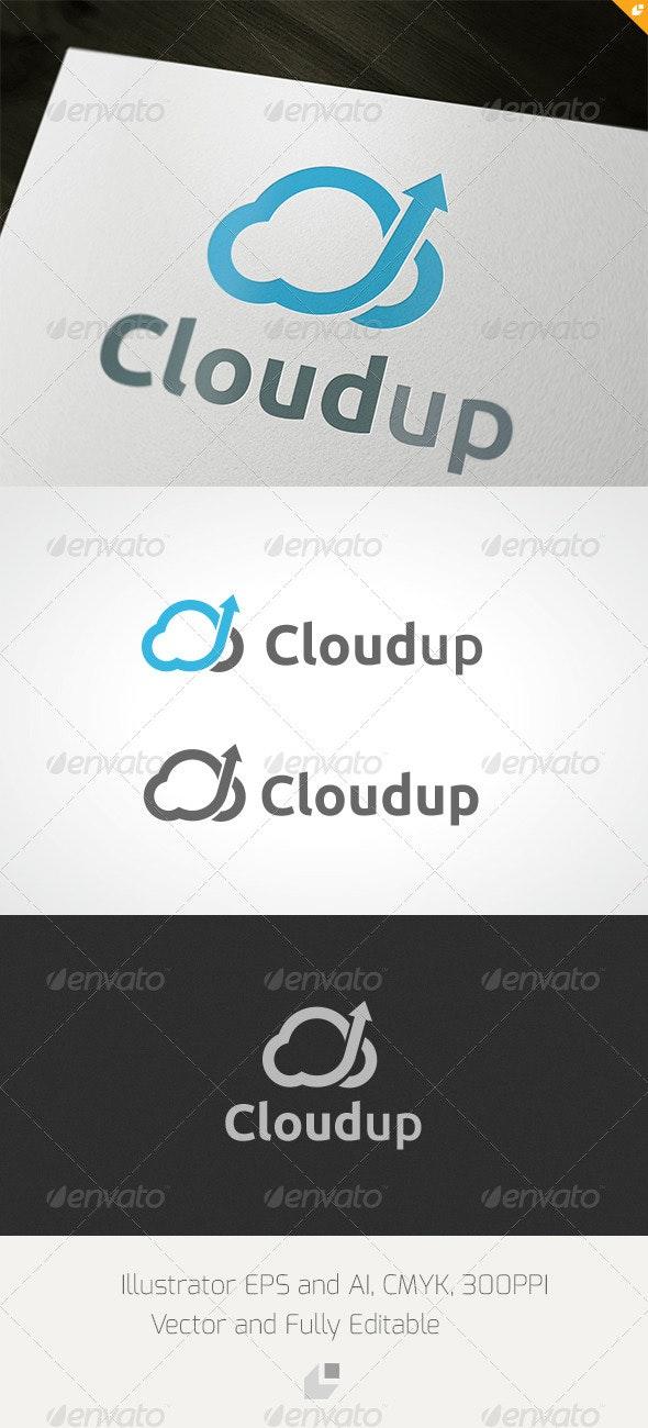Cloudup Logo - Nature Logo Templates