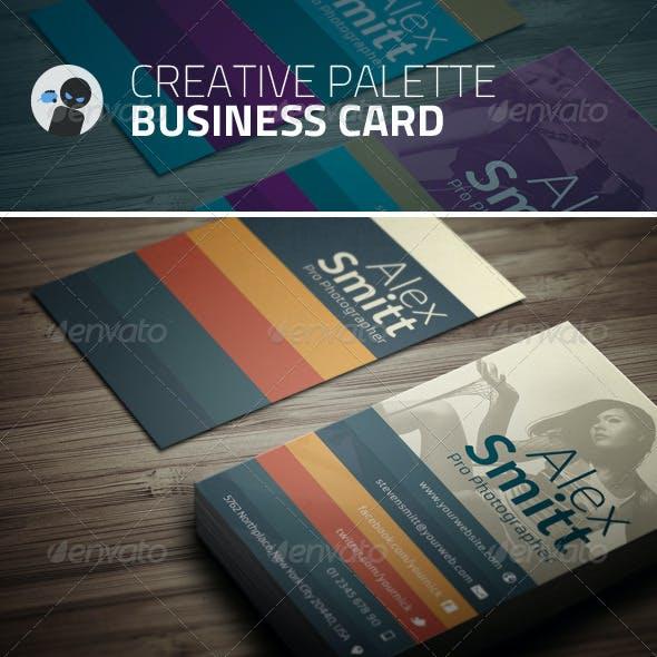 Creative Palette - Business Card