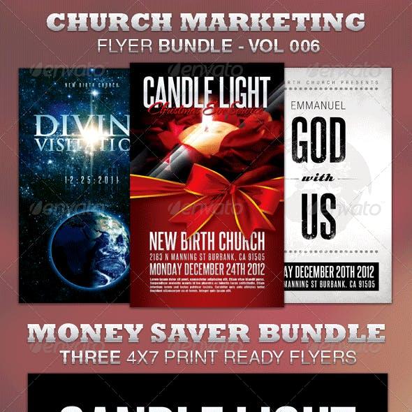 Church Marketing Flyer Bundle-Vol 006