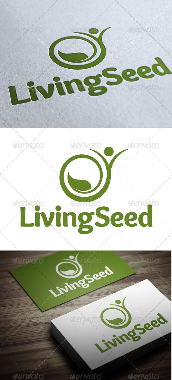 Living Seed - Nature Logo Templates