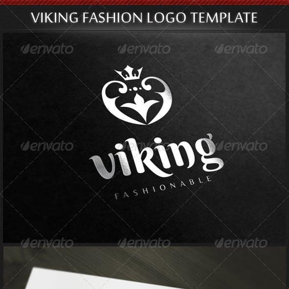 Viking Fashion Logo Template