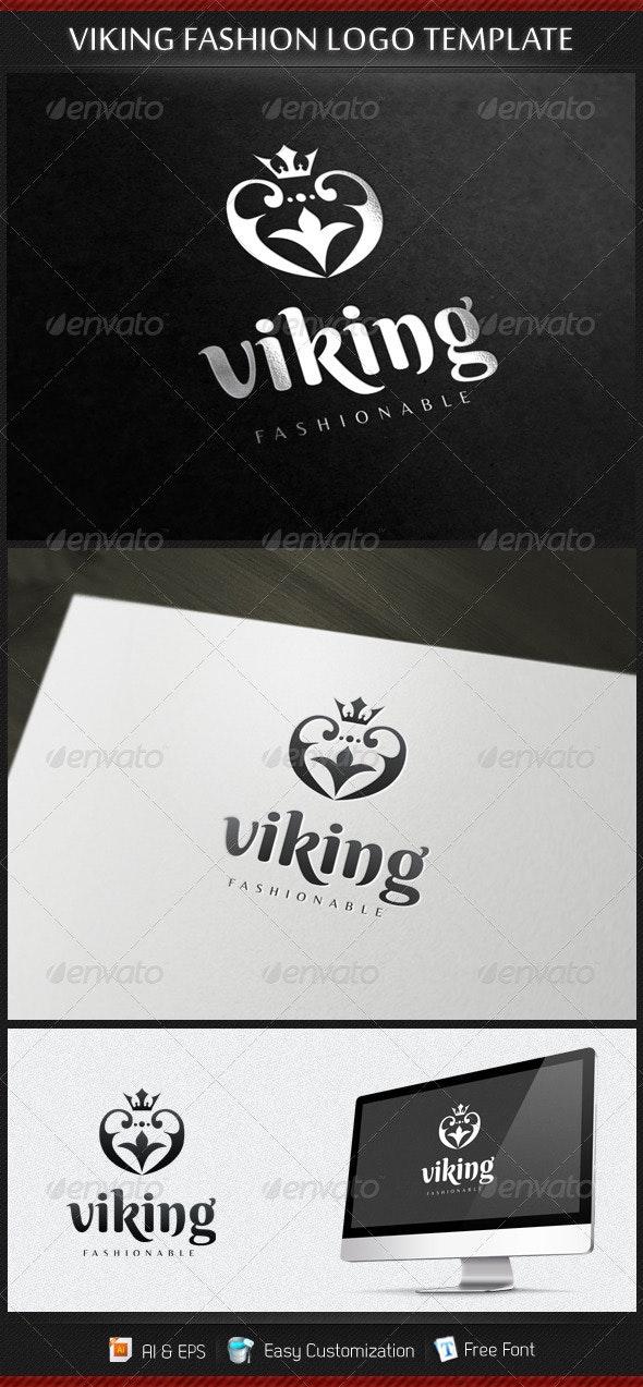 Viking Fashion Logo Template - Symbols Logo Templates