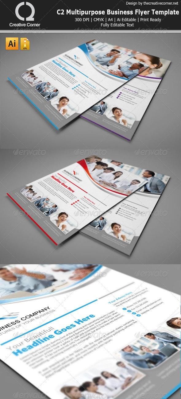 Multipurpose Business Flyer-vol.7 - Corporate Flyers