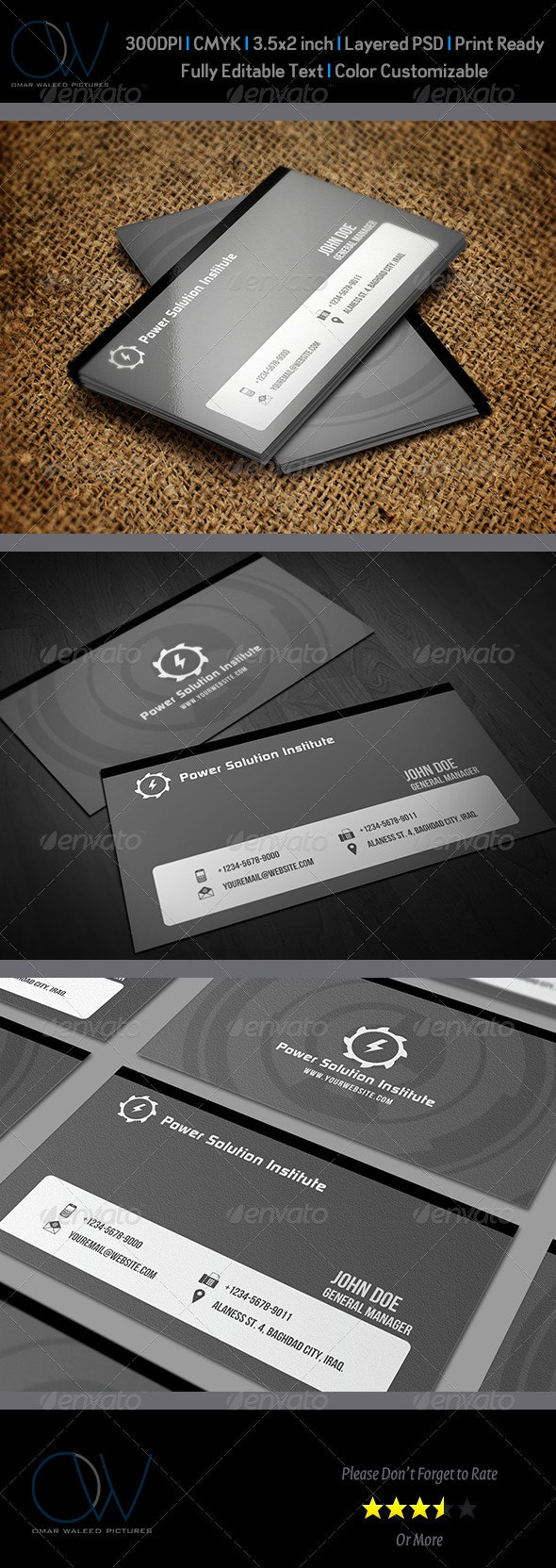 Corporate Business Card Vol.8 - Corporate Business Cards