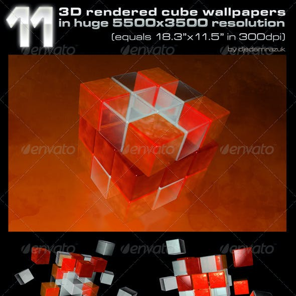 3D Rendered Wallpapers/Backgrounds