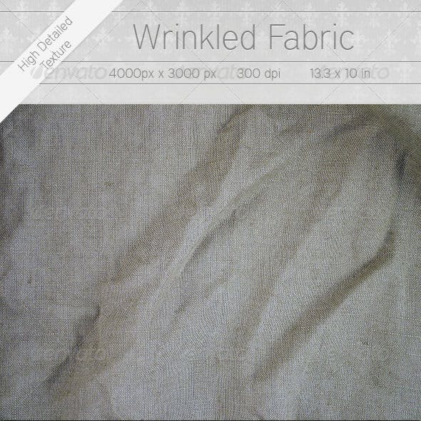 Wrinkled Fabric