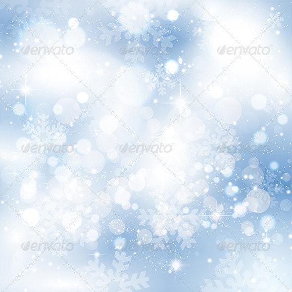 Snowflakes and stars - Christmas Seasons/Holidays