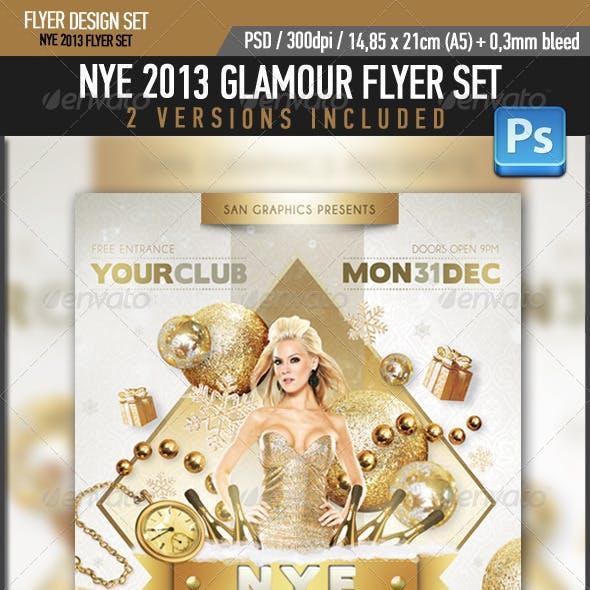 NYE 2013 Glamour Flyer