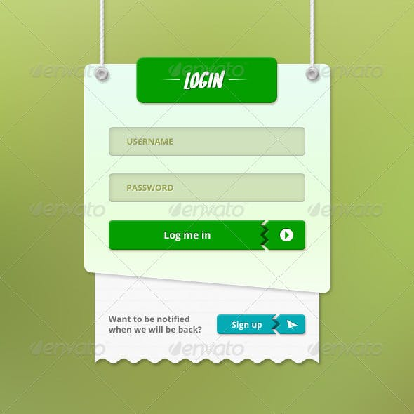 Login Page - Fully Customisable