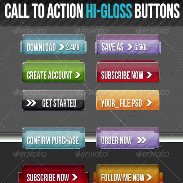 High Gloss Buttons
