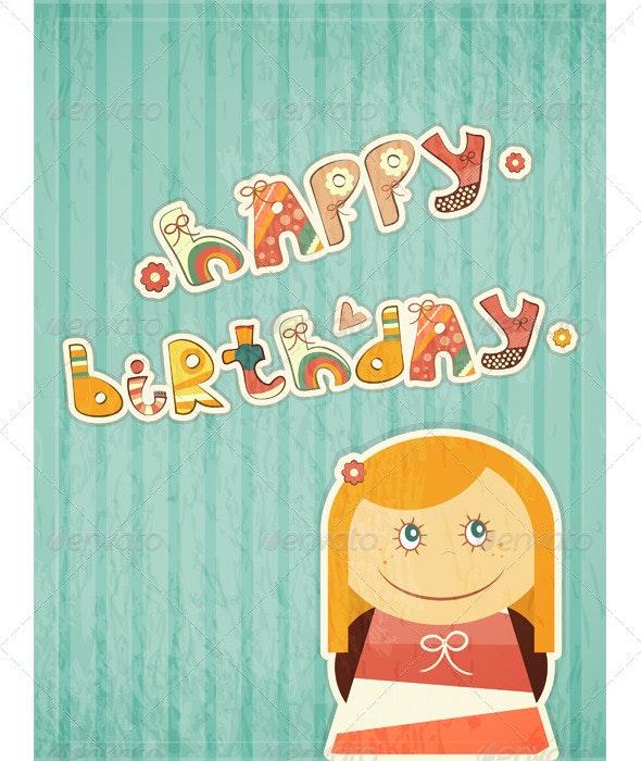 Birthday Card - Birthdays Seasons/Holidays