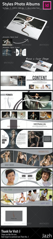 Styles Photo Albums - Photo Albums Print Templates