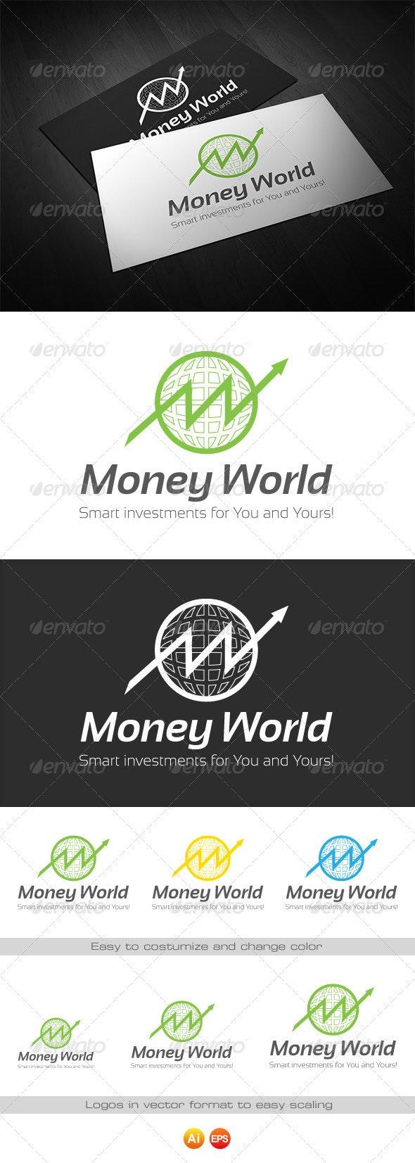 Money World - Logo for Finance - Symbols Logo Templates