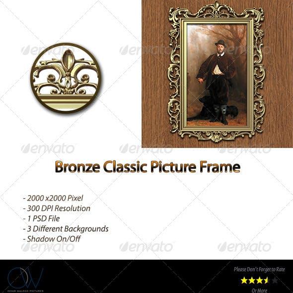 Bronze Classic Picture Frame