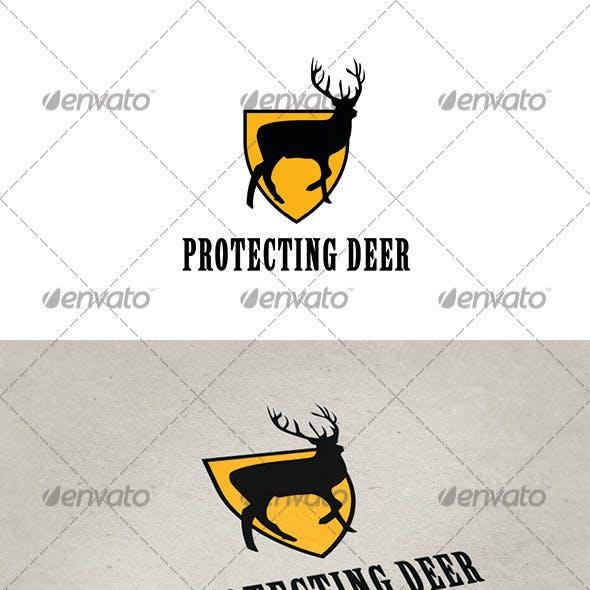 Protecting Deer Logo