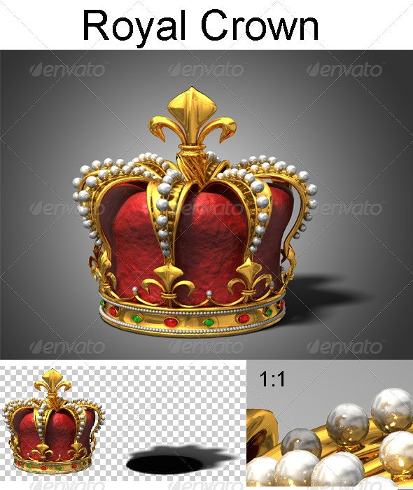 Royal Crown - Objects 3D Renders