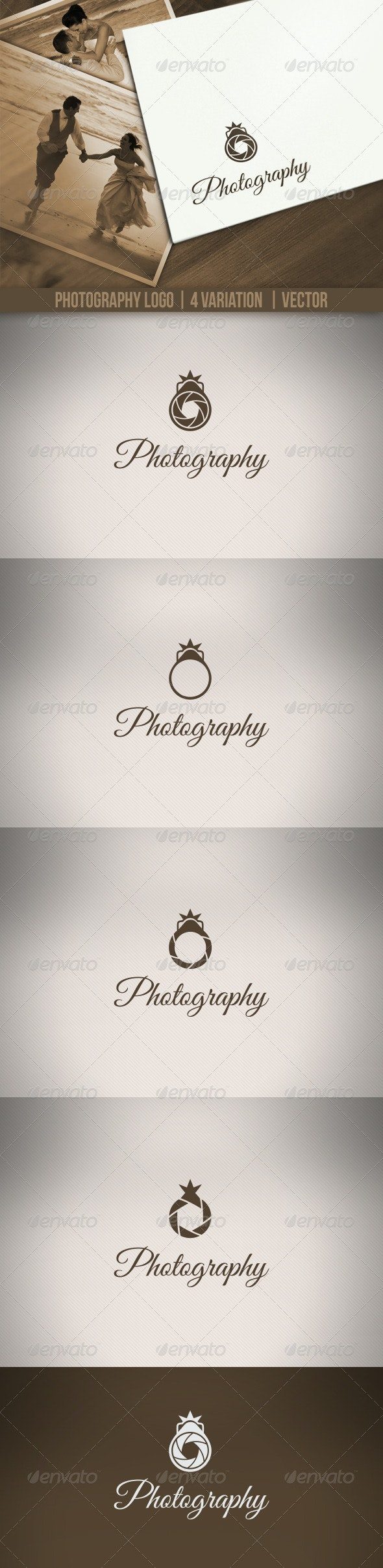 Photography Logos - Vector Abstract