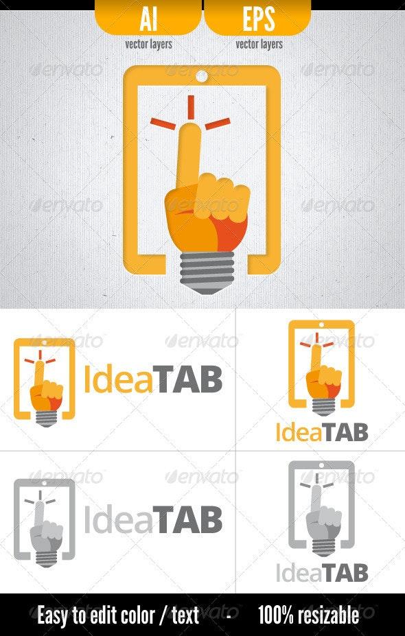 Idea Tab - Symbols Logo Templates