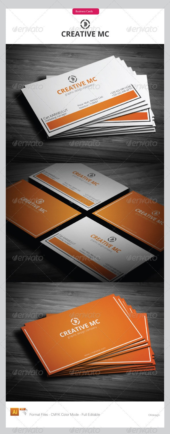 corporate business cards 203 - Creative Business Cards