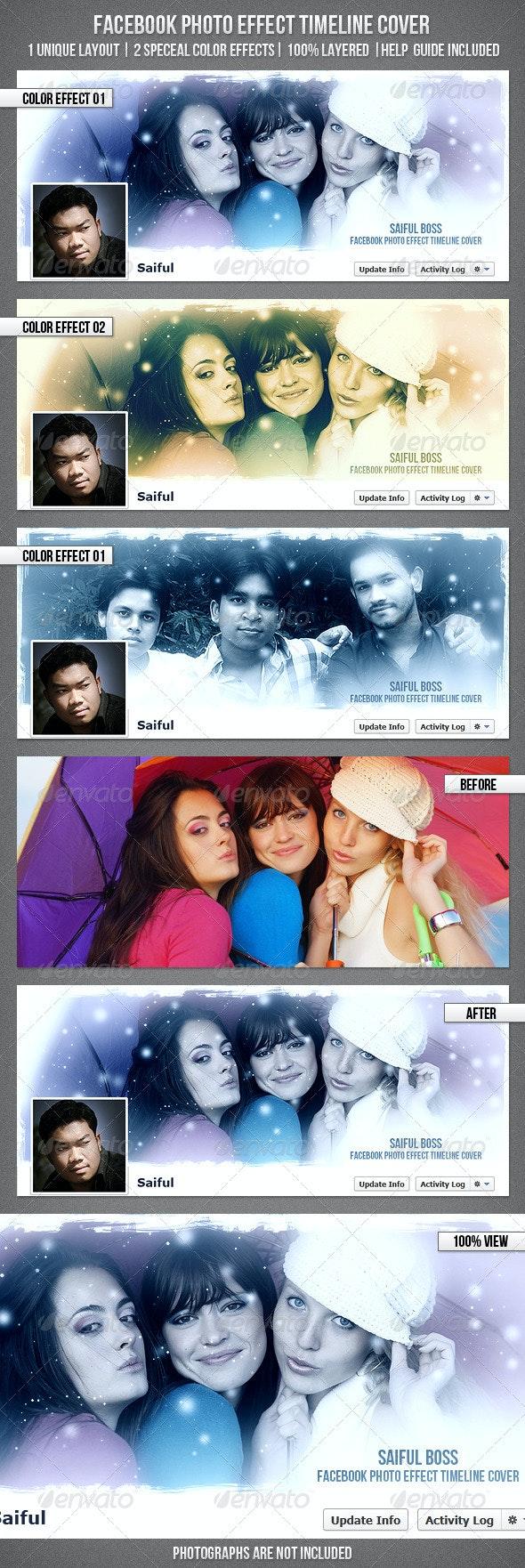 Facebook Photo Effect Timeline Cover - Facebook Timeline Covers Social Media