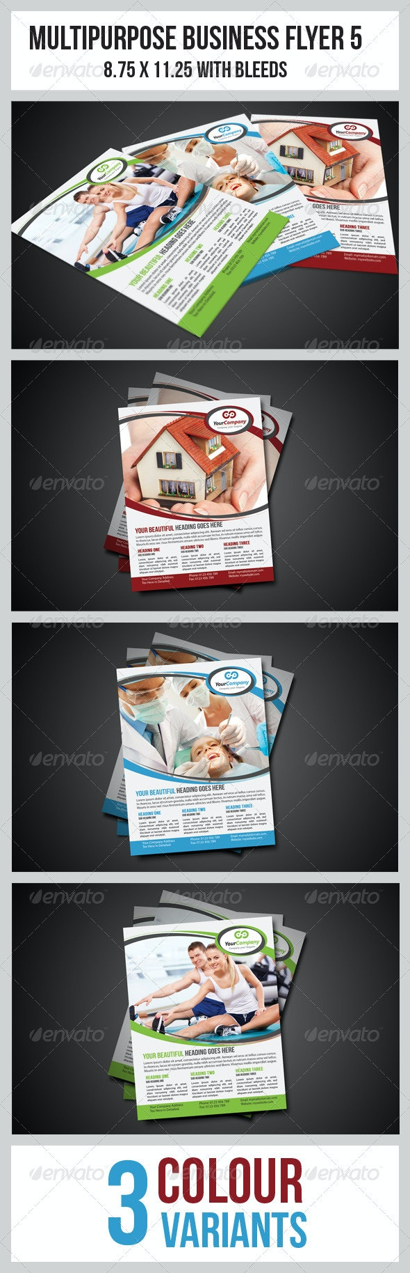 Multipurpose Business Flyer 5 - Corporate Flyers