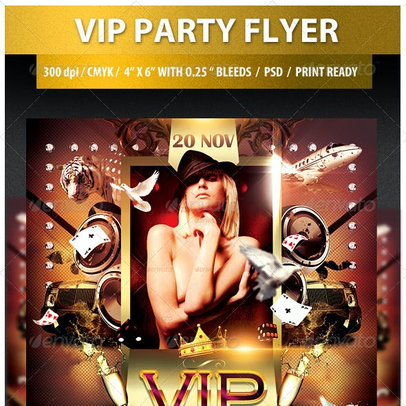 VIP Party Flyer - 2
