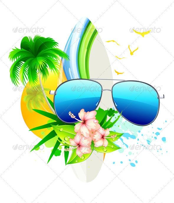 Summer Concept - Seasons/Holidays Conceptual