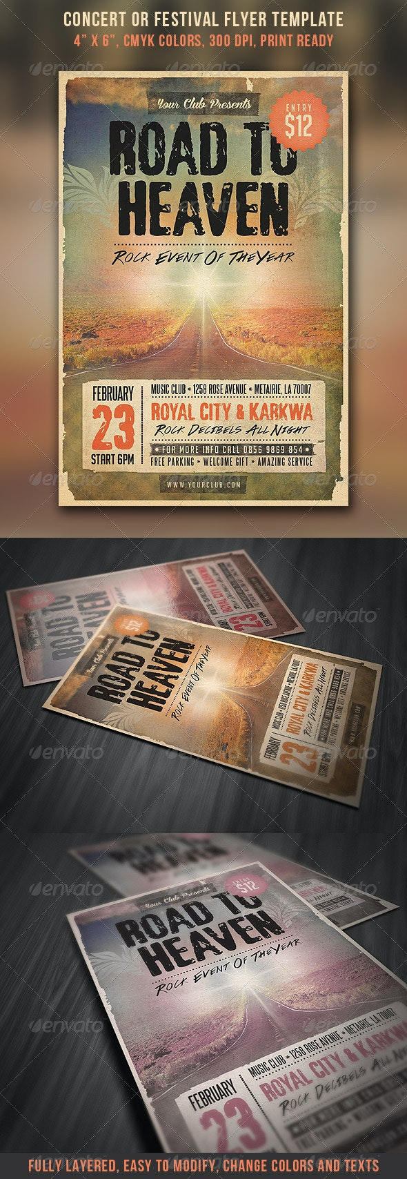 Concert & Festival Flyer - Concerts Events