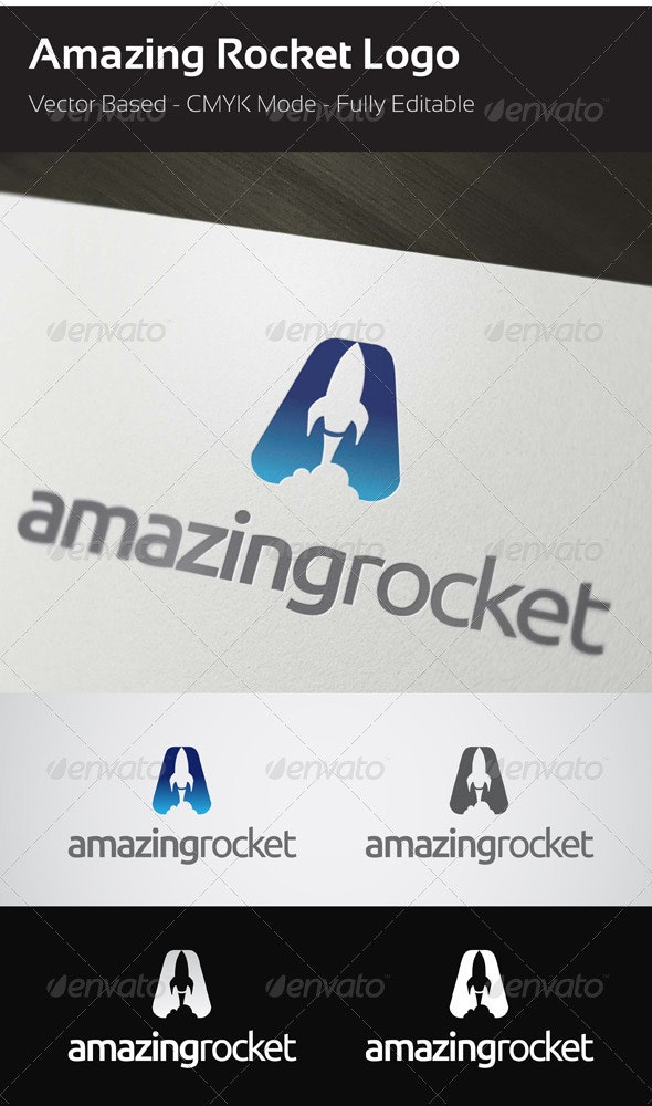 Rocket Logo - Objects Logo Templates
