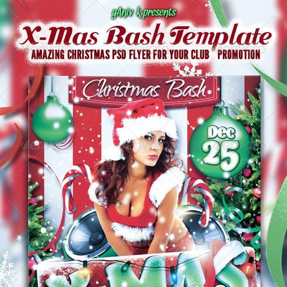 X-Mas Bash Flyer Template
