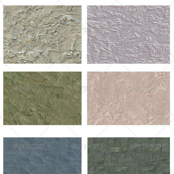 6 Concrete Backgrounds