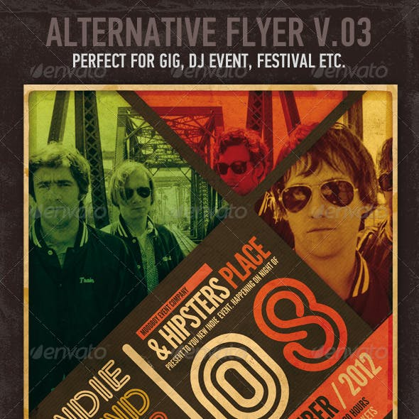 Alternative Flyer / Poster V03
